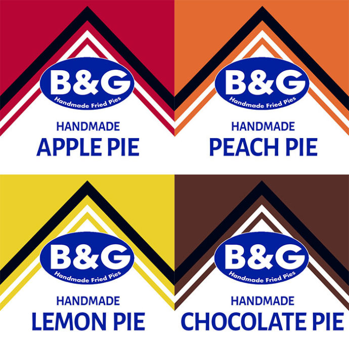 mix and match pie flavors